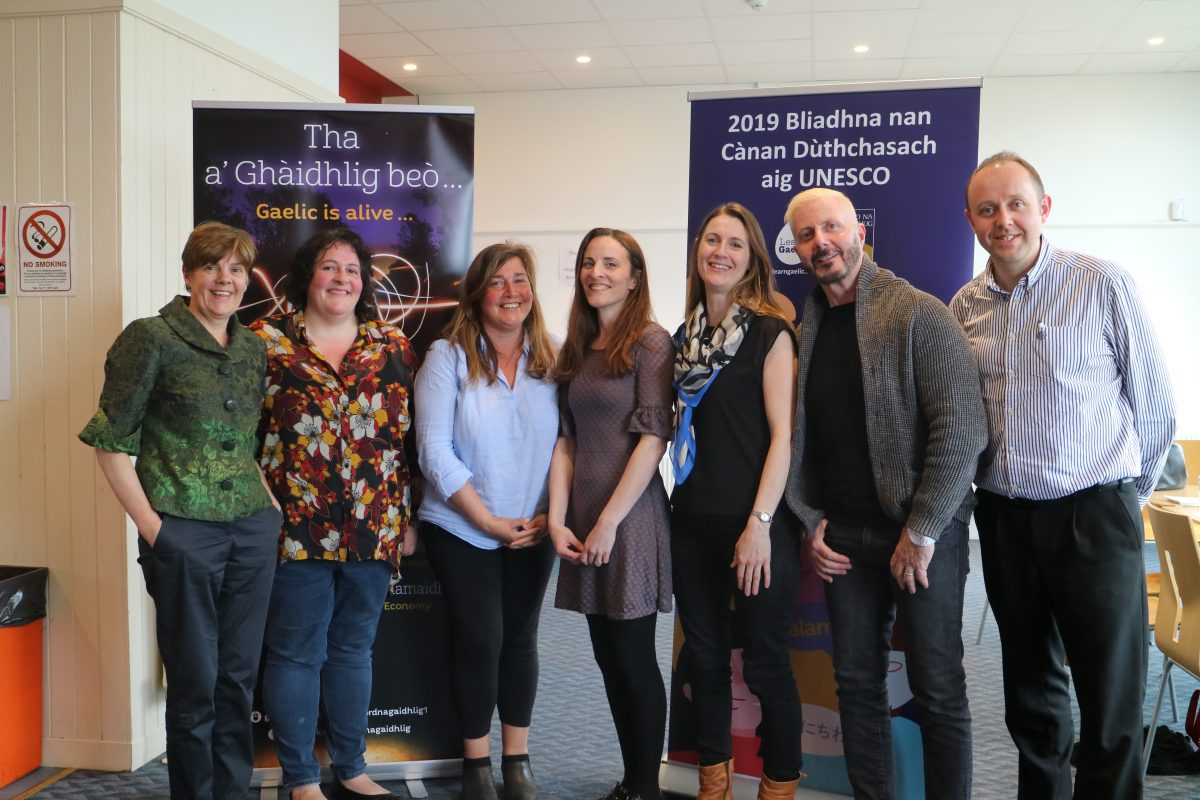 Bòrd na Gàidhlig visits Communities in Argyll & Bute and Lochaber