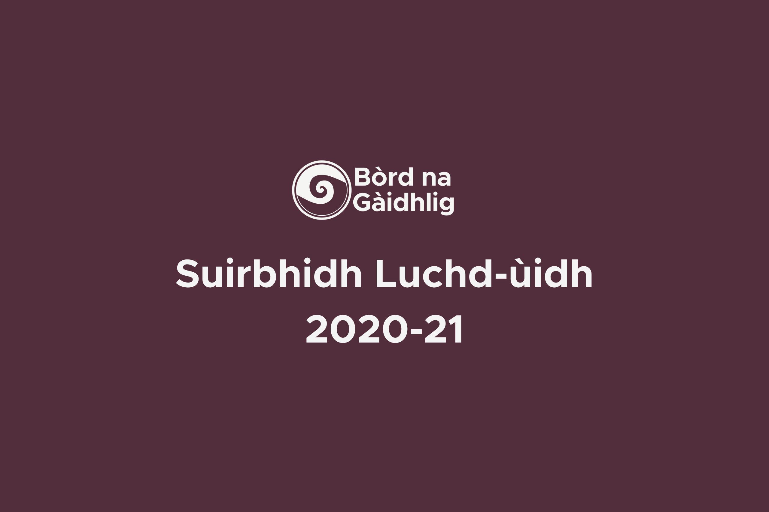 Stakeholder Survey 2020-21